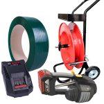 Outil de cerclage de batterie MB620 set sangle PET + distributeur + batterie + chargeur