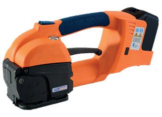GT ONE 10-16mm (3/8″ à 5/8″) cercleuse automatique feuillard plastique PET et PP avec batterie et chargeur 2
