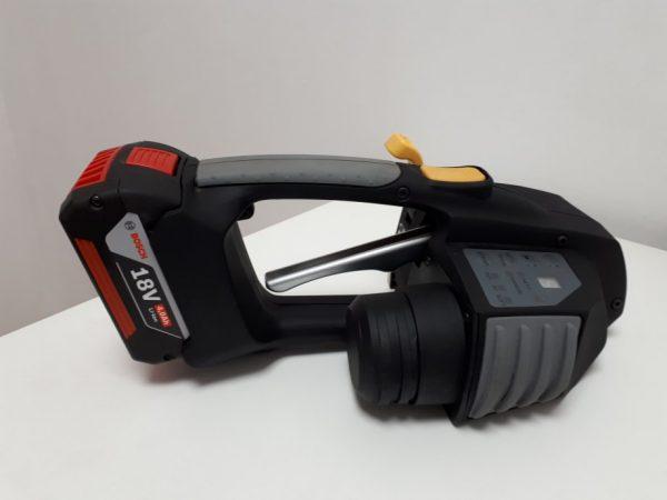 Cercleuse à batterie Messersi MB620  12-16mm (1/2″ à 5/8″) pour banderolage de feuillard PET et PP avec batterie et chargeur 3