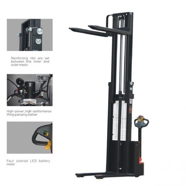 Gerbeur-électrique-3500mm-350cm-1500kg-bon-marché