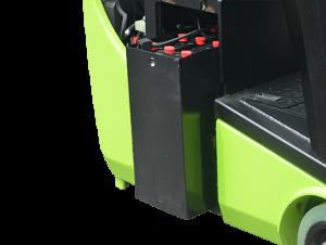 Electric Forklift Side-pull batteries