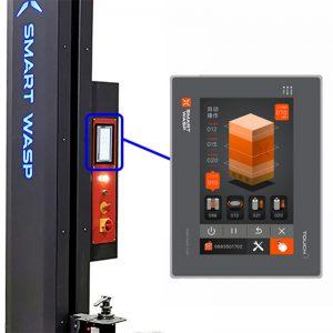 Machine à emballer les palettes SMARTWRAP X Écran tactile