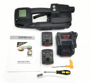 Battery strapping tool TES PRO set